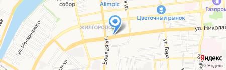 Магия сада на карте Астрахани