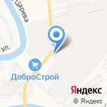 Автогамма на карте Астрахани