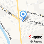 Астраханский центр профессиональной подготовки и повышения квалификации кадров Федерального дорожного агентства на карте Астрахани