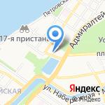 Детский сад №50 на карте Астрахани