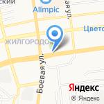 Ветеринарная клиника на карте Астрахани