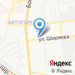 Отдел полиции №1 на карте Астрахани