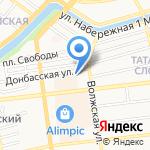 DUX на карте Астрахани