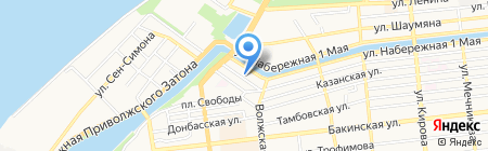 Hi-tech на карте Астрахани