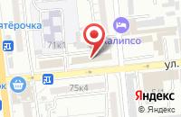 Схема проезда до компании Ёмкость в Астрахани