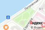 Схема проезда до компании Баскин Роббинс в Астрахани