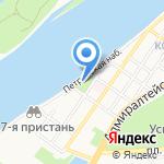 Баскин Роббинс на карте Астрахани