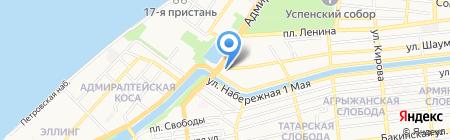 АнТел на карте Астрахани