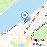 Оскар на карте Астрахани