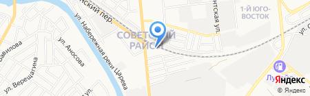 Арктик РВД на карте Астрахани