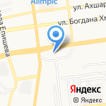 АптекарЪ на карте Астрахани