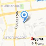 Детский сад №85 на карте Астрахани