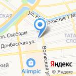 Храм Иоанна Златоуста на карте Астрахани