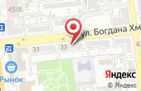Схема проезда до компании Просто Строй в Астрахани