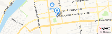 Да Прованс на карте Астрахани