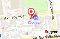 Схема проезда до компании Медиареклама в Астрахани