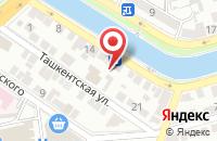 Схема проезда до компании Астраханьгазсервис в Астрахани