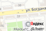 Схема проезда до компании Дэ Прованс в Астрахани