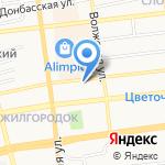 Лари на карте Астрахани