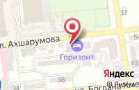 Схема проезда до компании Advanced Safety Technologies в Астрахани