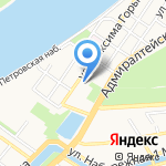 Астраханский областной суд на карте Астрахани