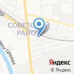Технопарк на карте Астрахани