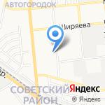Средняя общеобразовательная школа №37 на карте Астрахани