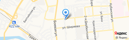ДАР\/ВОДГЕО на карте Астрахани