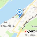 АСТРАПРОЕКТ на карте Астрахани