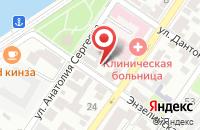 Схема проезда до компании АСТРАПРОЕКТ в Астрахани