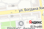 Схема проезда до компании Евростоловая в Астрахани