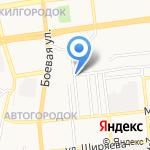 Магазин овощей и фруктов на карте Астрахани