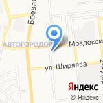 ГЕОэкспресс на карте Астрахани