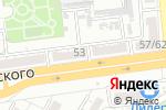 Схема проезда до компании Все для мебели в Астрахани