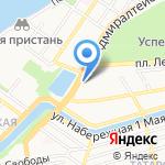 Макс`И на карте Астрахани