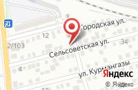 Схема проезда до компании Вектор-А в Астрахани
