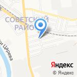 Вектор-А на карте Астрахани