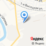 Стройкомплекс на карте Астрахани