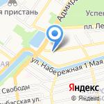 Piccolino на карте Астрахани
