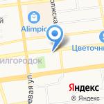 Евростоловая на карте Астрахани