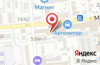 Схема проезда до компании Каспиец в Астрахани