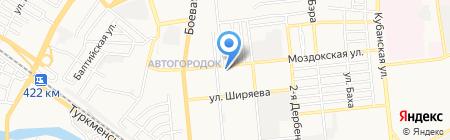 Федерация регби на карте Астрахани