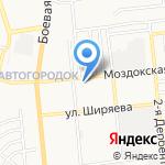 Астрашинторг на карте Астрахани