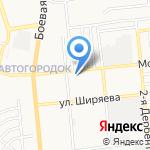 Авангард Авто на карте Астрахани