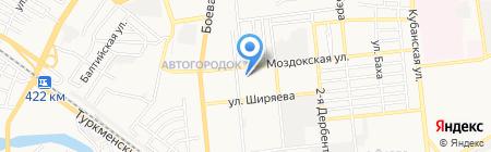 Федерация Конного Спорта Астраханской области на карте Астрахани