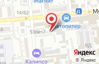 Схема проезда до компании Кони Аст в Астрахани