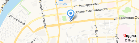 Азбука климата на карте Астрахани