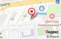 Схема проезда до компании Резиденция детства в Астрахани
