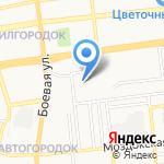 Средняя общеобразовательная школа №1 с дошкольным отделением на карте Астрахани