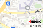 Схема проезда до компании Радость Есть в Астрахани